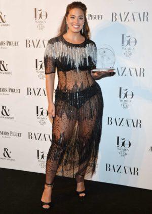 Ashley Graham - Harper's Bazaar Women of the Year Awards 2017 in London