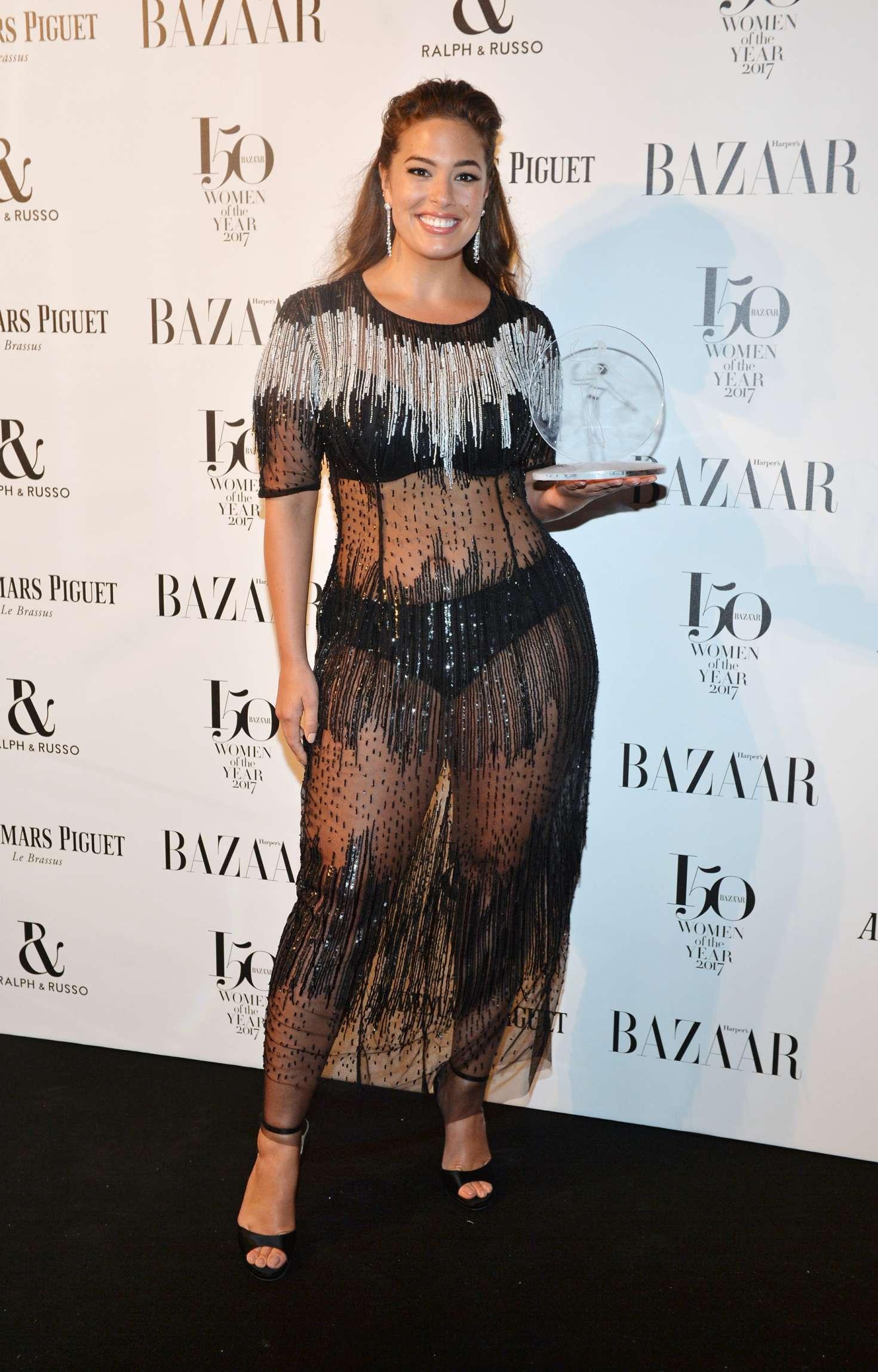 Ashley Graham – Harper's Bazaar Women of the Year Awards 2017 in London