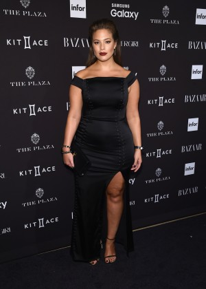 Ashley Graham - Harpers Bazaar ICONS Event in NY