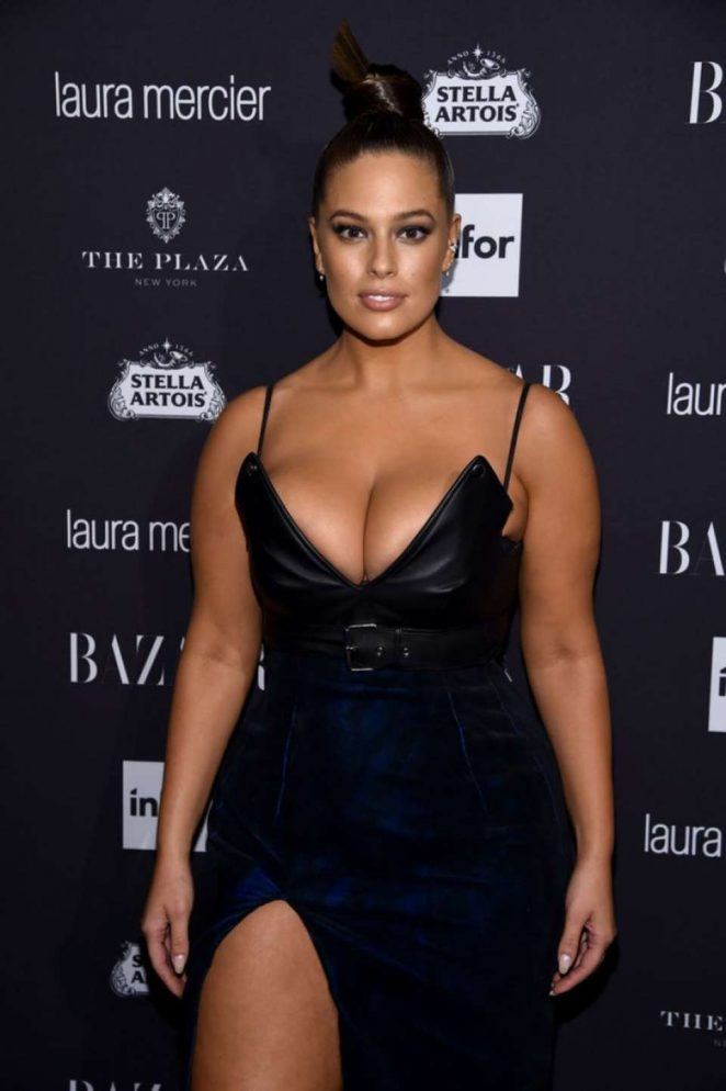 Ashley Graham - Harpers Bazaar Icons Party 2016 in NYC