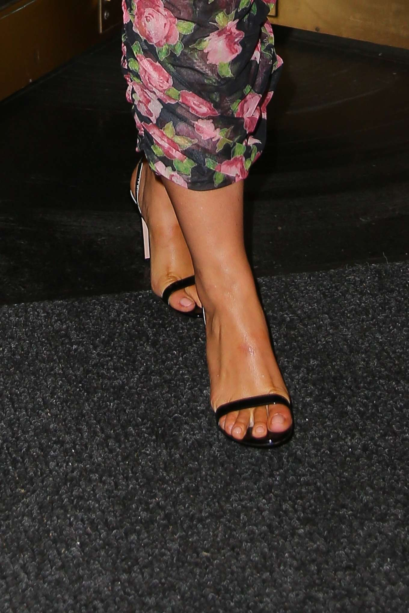 Ashley Graham 2019 : Ashley Graham in Floral Dress-01