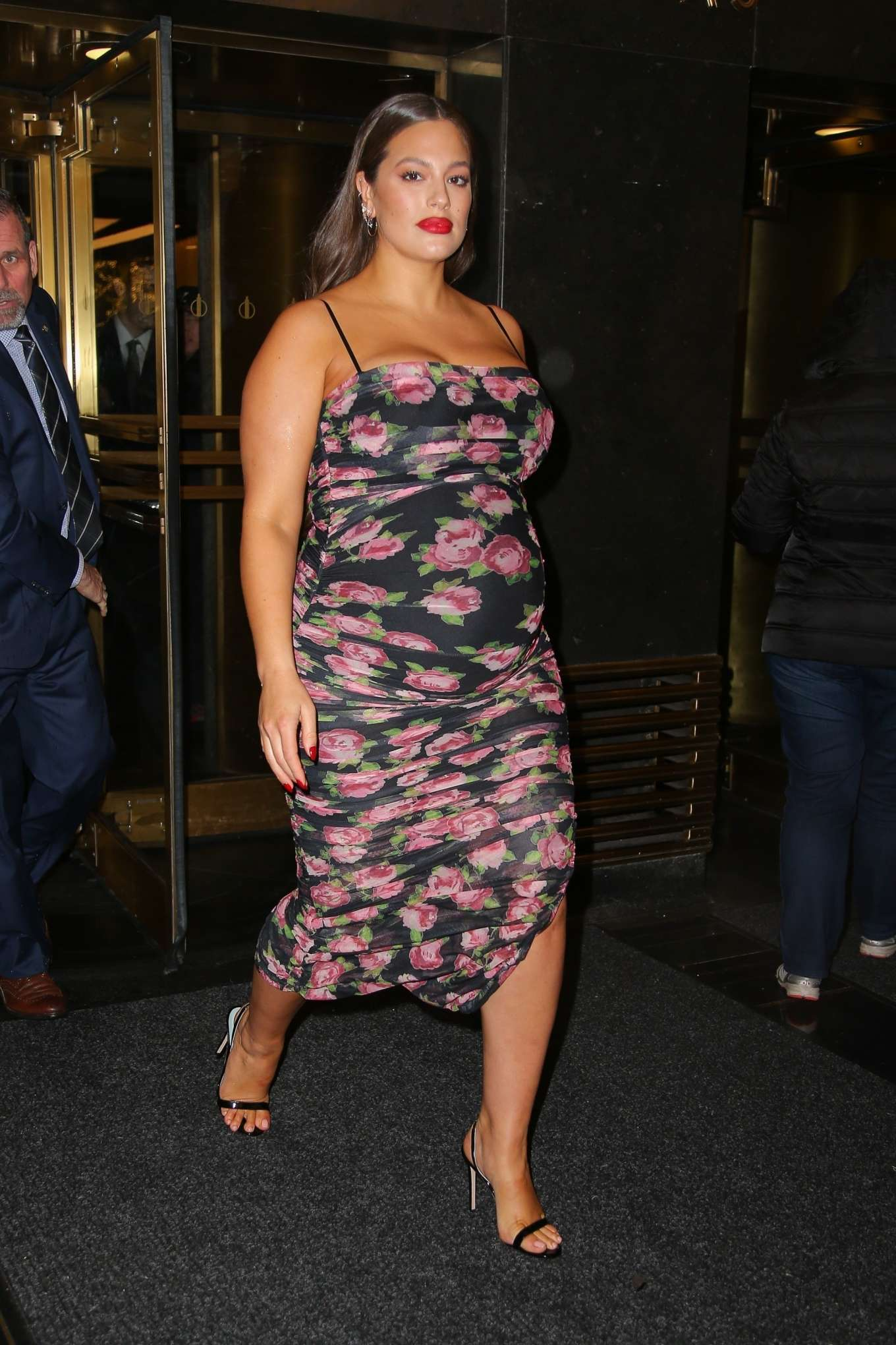 Ashley Graham 2019 : Ashley Graham in Floral Dress-07