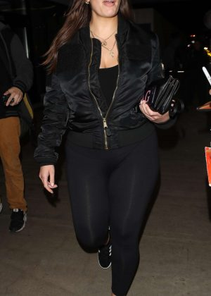 Ashley Graham In Tights Arrives In La Gotceleb