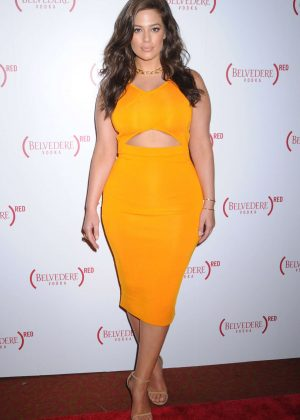 Ashley Graham - John Legend as Face of #MAKETHEDIFFERENCE Campaign in NYC