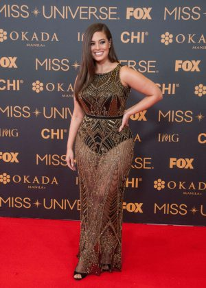 Ashley Graham - Miss Universe Red Carpet Presentation in Philippines