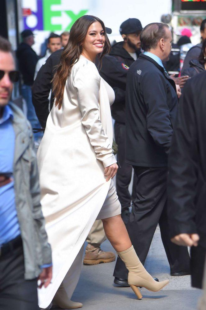Ashley Graham out in Manhattan