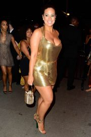 Ashley Graham - Outside Gucci After Party for MET Gala 2019 in NYC