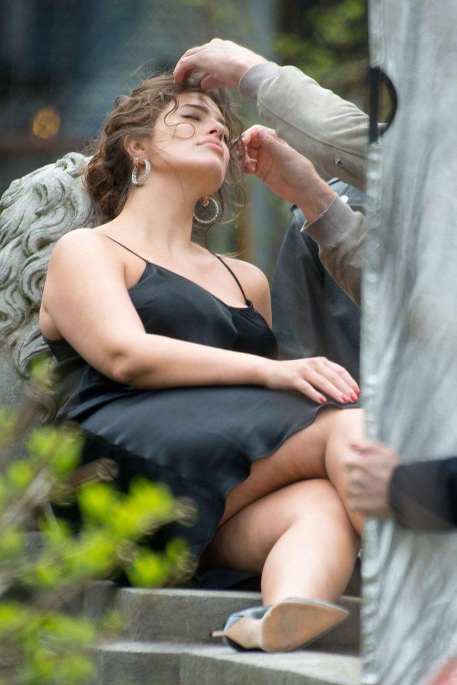 Ashley Graham - Photoshoot for Harper's Bazaar UK in SoHo