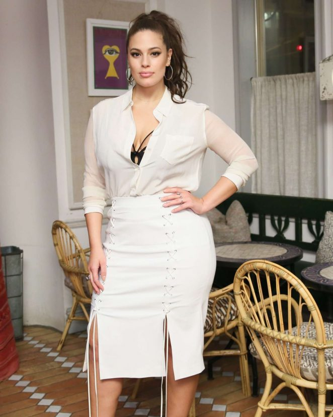 Ashley Graham - Prabal Gurung and Lane Bryant Collection Launch Dinner in NY