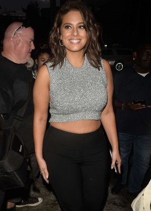 Ashley Graham - Samsung Party at 2016 New York Fashion Week in NY