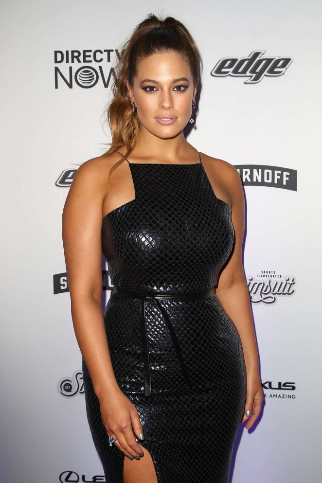 Ashley Graham - Sports Illustrated Swimsuit Edition Launch Event in NY