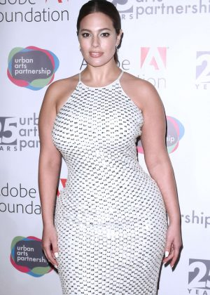 Ashley Graham - Urban Arts Partnership 25th Anniversary Benefit in New York
