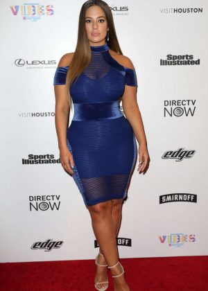 Ashley Graham - VIBES By Sports Illustrated Swimsuit 2017 Launch in Houston