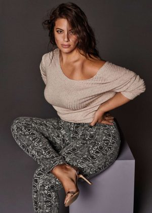 Ashley Graham - Violeta By Mango Campaign 2018