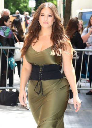 Ashley Graham visits the TV Show 'The View' in New York City