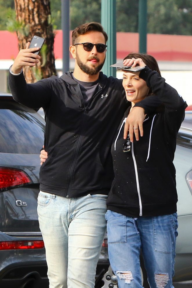 Ashley Greene and Paul Khoury – Shopping for Thanksgiving in LA