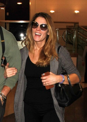 Ashley Greene - Arrives at LAX airport in Los Angeles