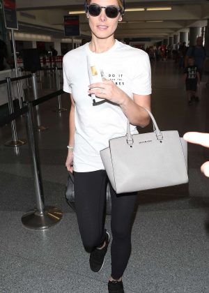 Ashley Greene - Arriving at the Los Angeles International Airport