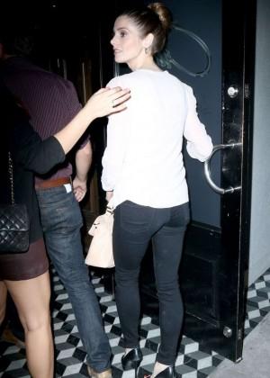 Ashley Greene at Craig's Restaurant in West Hollywood