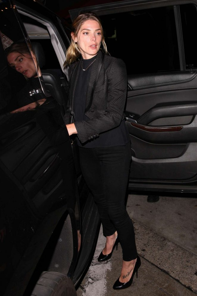 Ashley Greene at Craig's Restaurant in West Hollywood