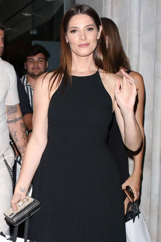 Ashley Greene at Mr Chow in Beverly Hills