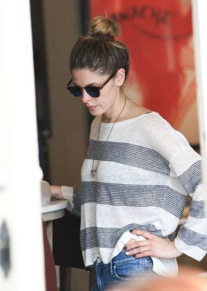 Ashley Greene at The Grove in Los Angeles