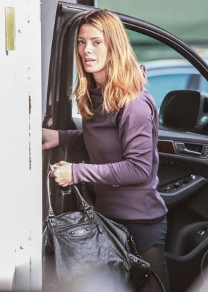 Ashley Greene at the gym in LA