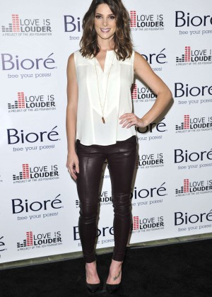 Ashley Greene - Biore Skincare Love Is Louder Project Event in LA