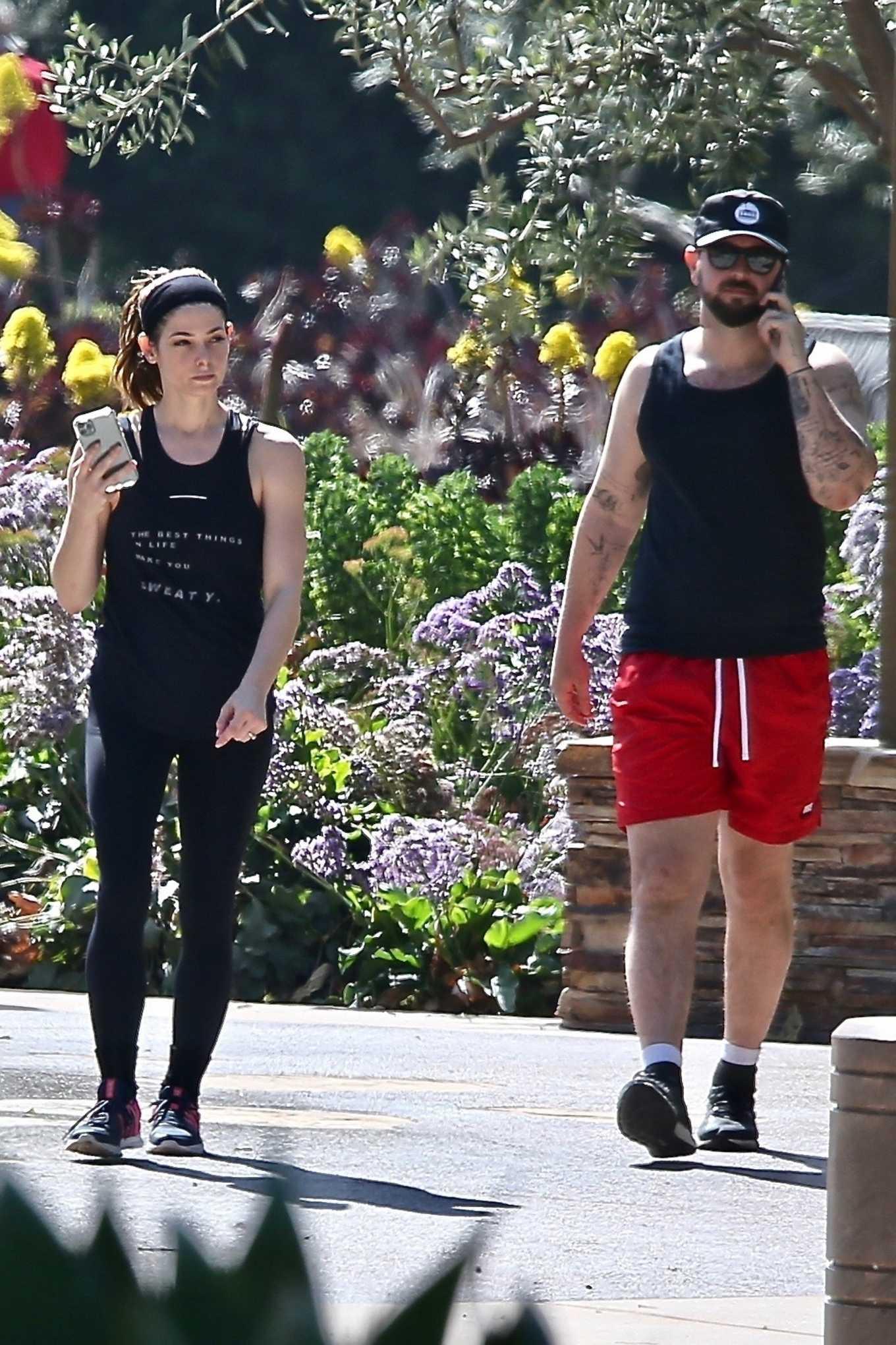 Ashley Greene 2020 : Ashley Greene – Finishing her workout in Beverly Hills-02