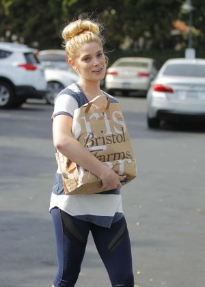 Ashley Greene - Grocery shopping in Beverly Hills