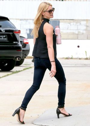 Ashley Greene - Heading to Automatic Sweat Casting Studio in Culver City