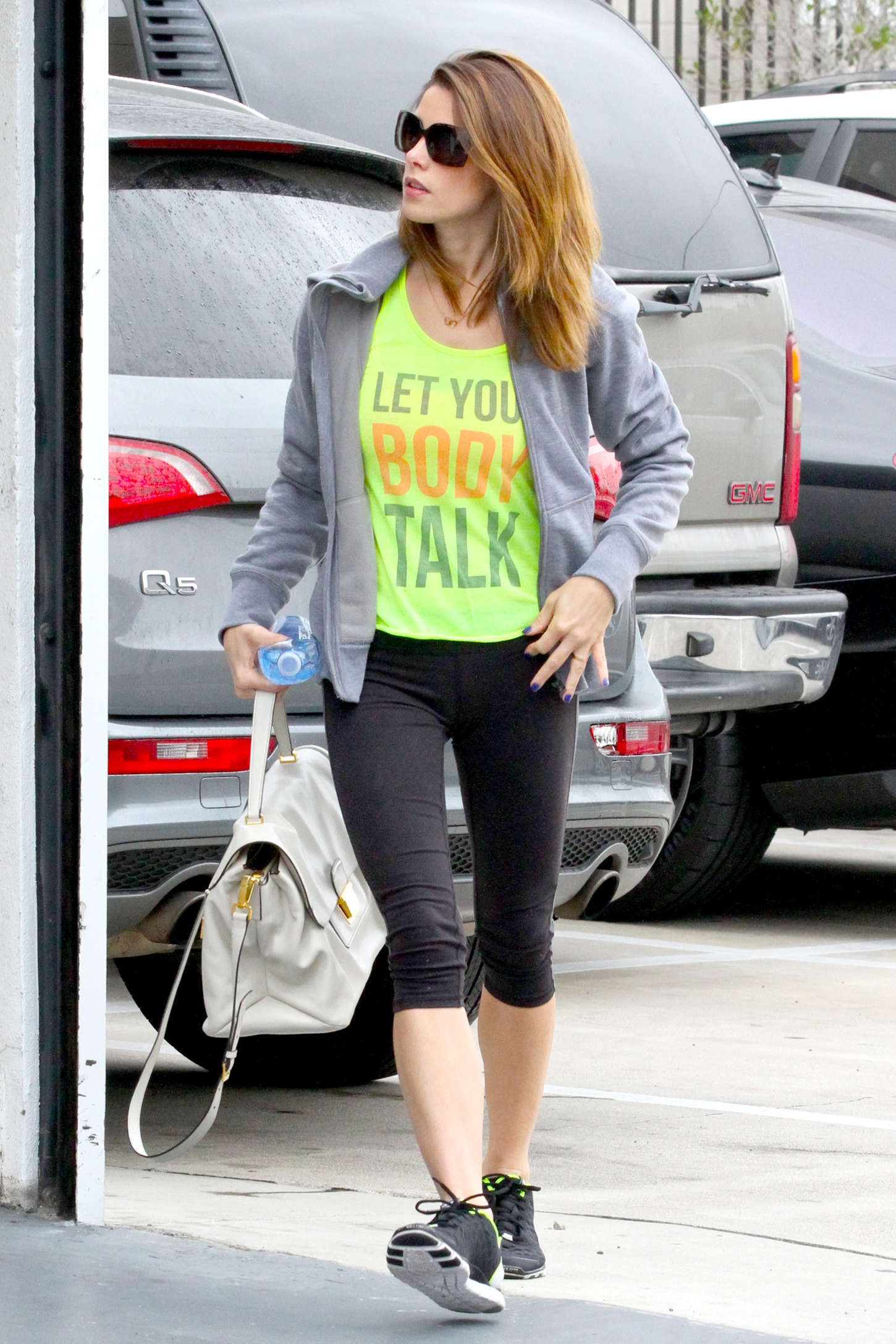 Ashley Greene - Heads to the gym in West Hollywood