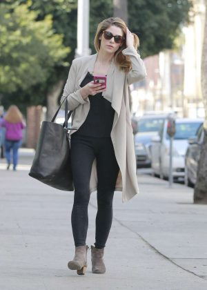 Ashley Greene in Black Jeans - Out in Beverly Hills