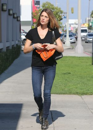 Ashley Greene in Jeans out and about in West Hollywood