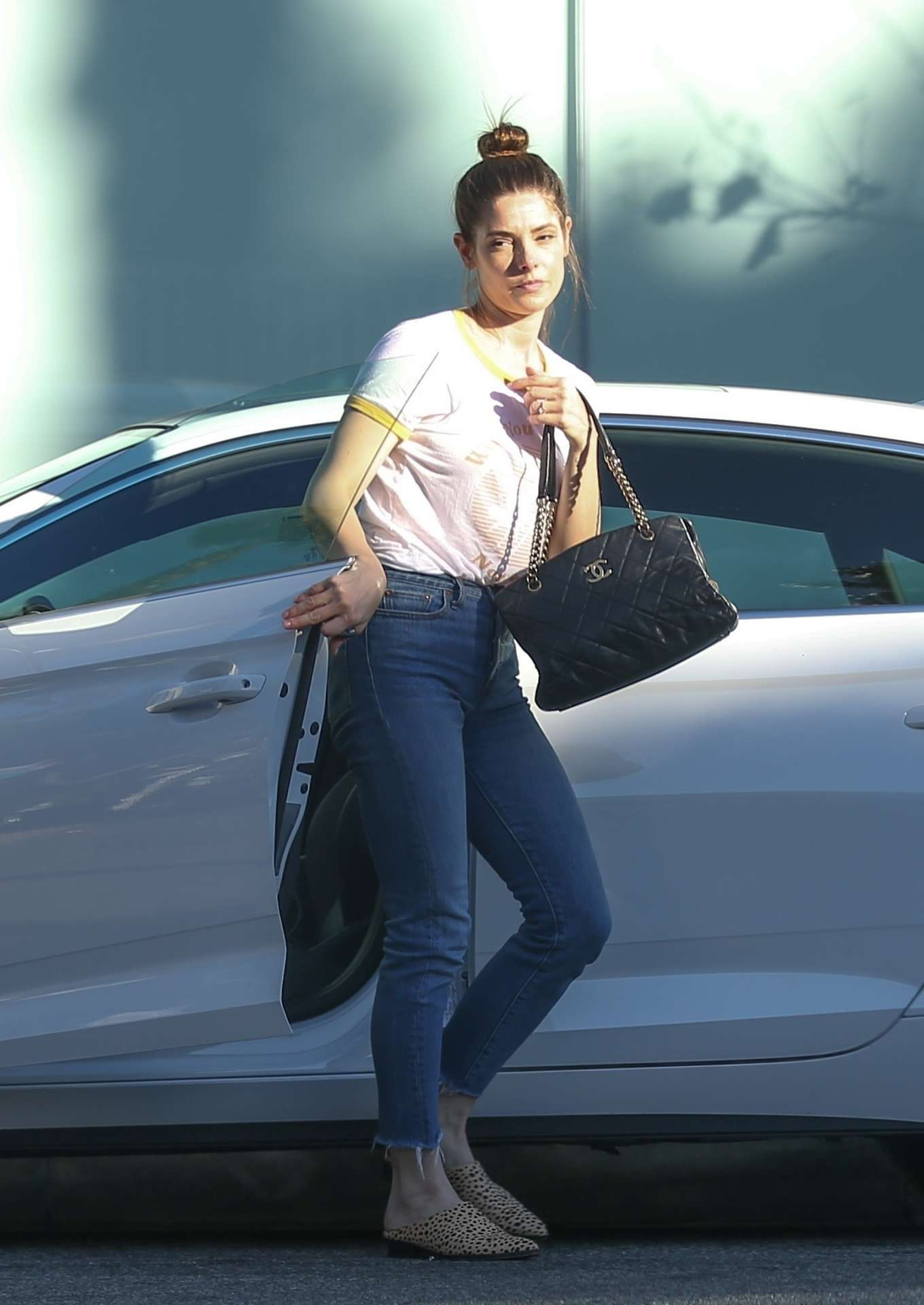 Ashley Greene 2020 : Ashley Greene in Jeans – Out in West Hollywood-02