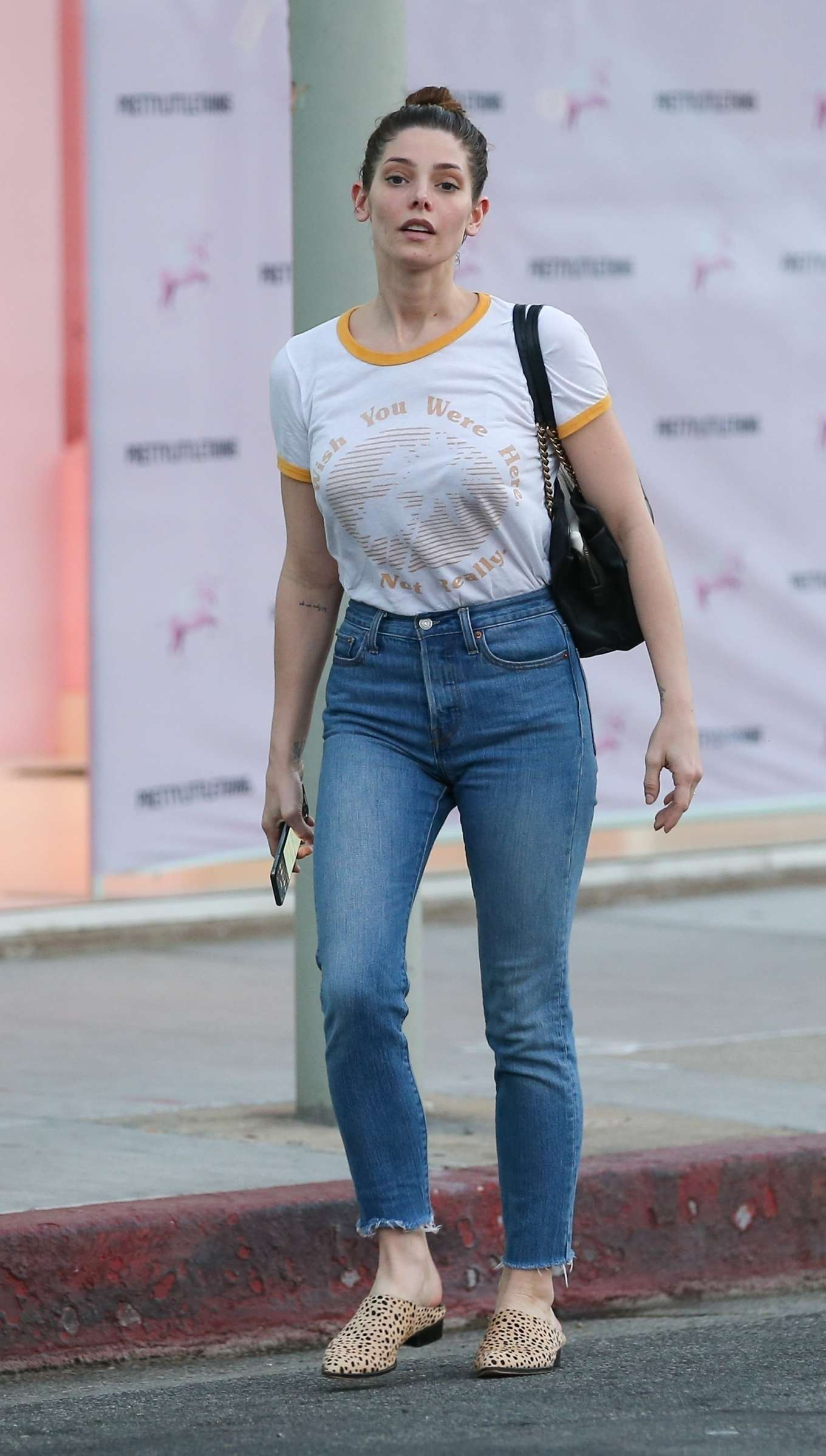 Ashley Greene 2020 : Ashley Greene in Jeans – Out in West Hollywood-05