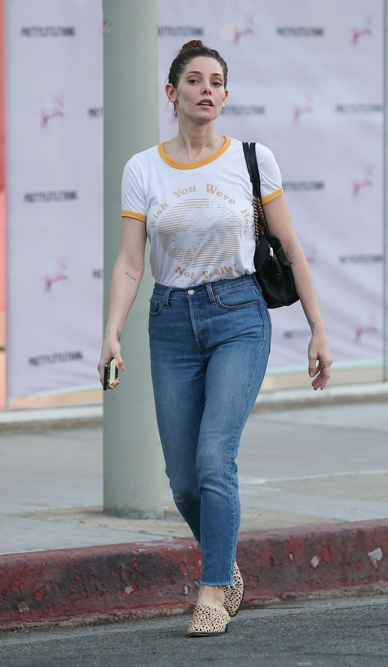 Ashley Greene 2020 : Ashley Greene in Jeans – Out in West Hollywood-09