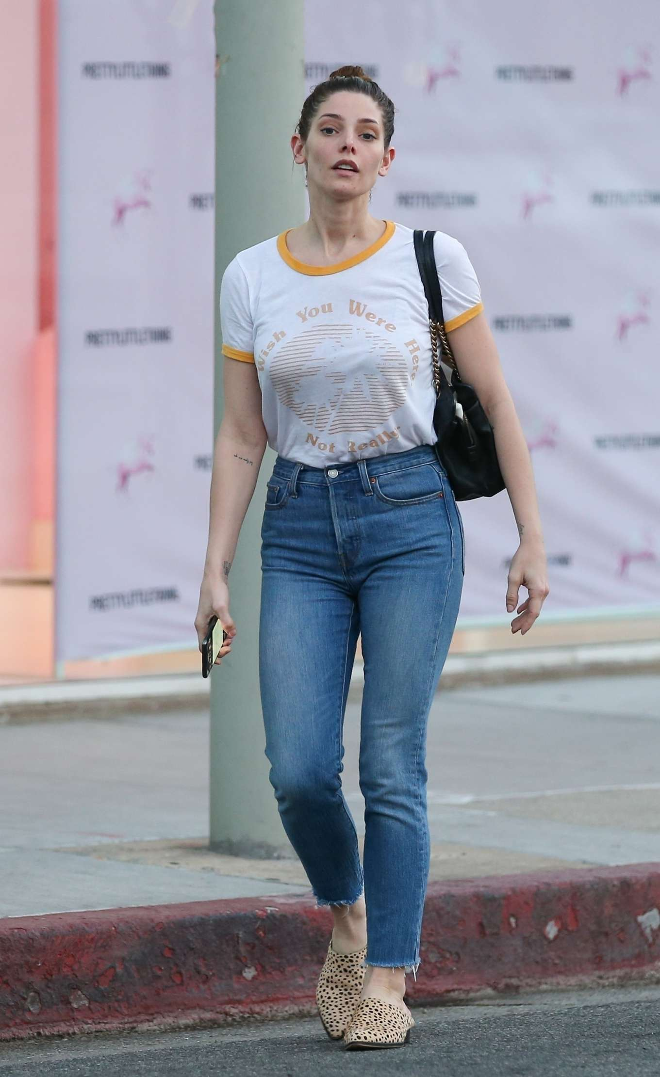 Ashley Greene 2020 : Ashley Greene in Jeans – Out in West Hollywood-10