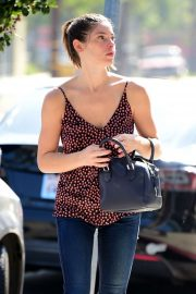 Ashley Greene - In jeans while out in Los Angeles