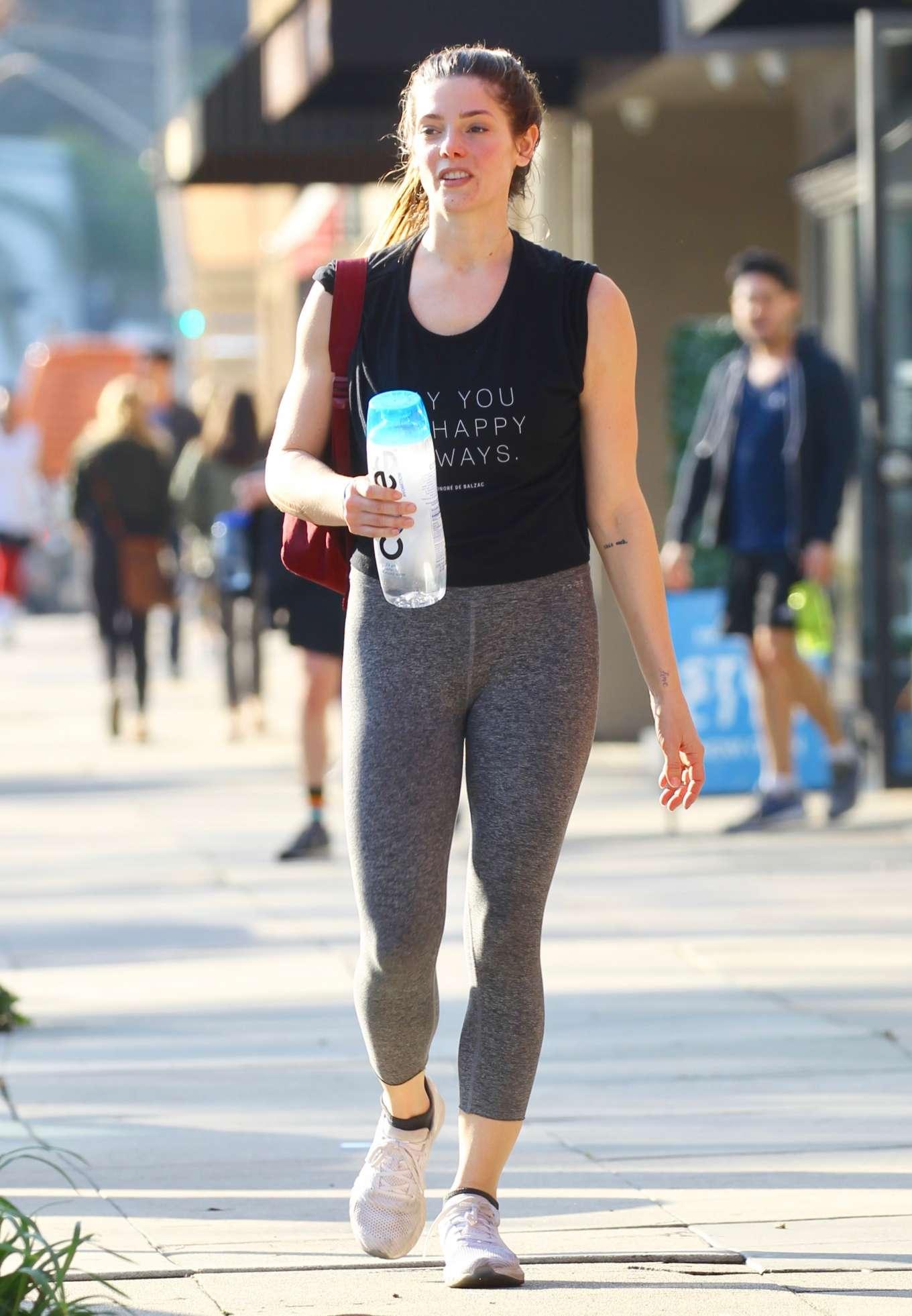 Ashley Greene 2020 : Ashley Greene in Spandex – Out in Sherman Oaks-02