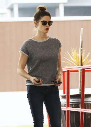 Ashley Greene in Tight Jeans Out in Los Feliz