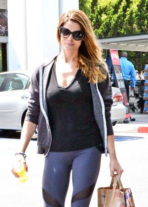 Ashley Greene in Tight Leggings out in Beverly Hills