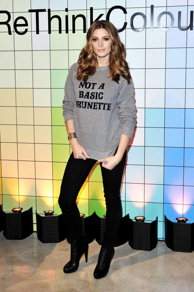 Ashley Greene - John Frieda's Brilliant Brunette Visibly Brighter Treatment Event in LA