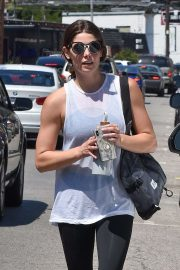 Ashley Greene - Leaves the gym in Studio City
