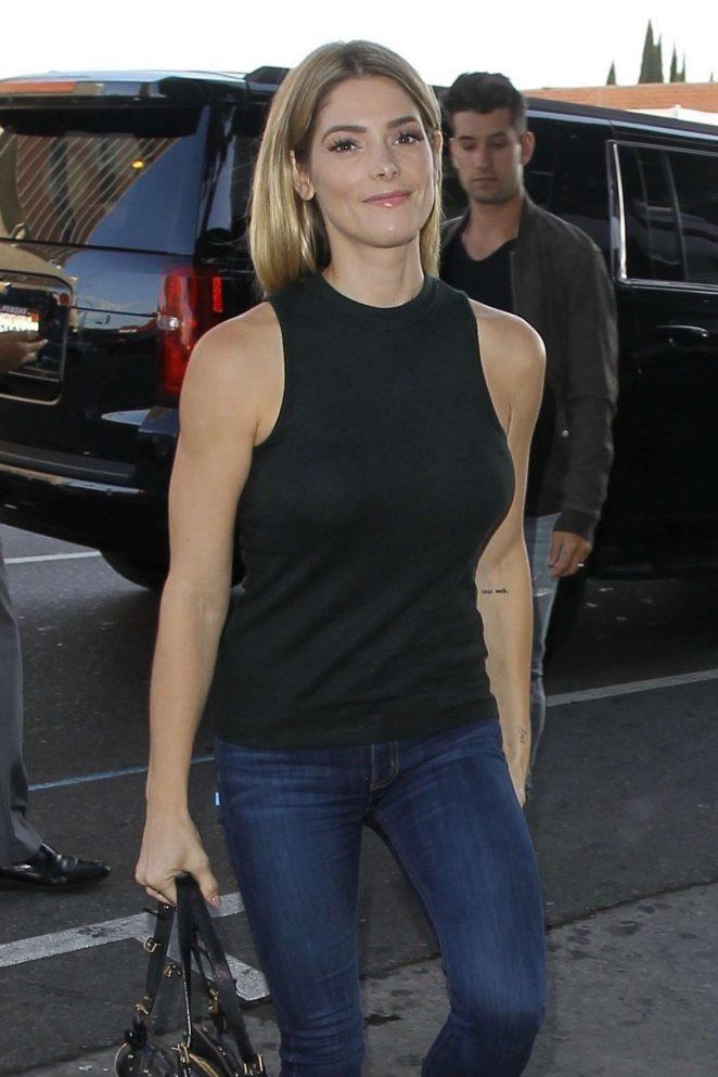 Ashley Greene - Leaves Warwick in Hollywood
