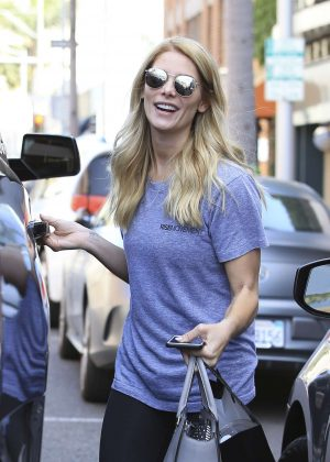 Ashley Greene - Leaving a nail salon in Beverly Hills