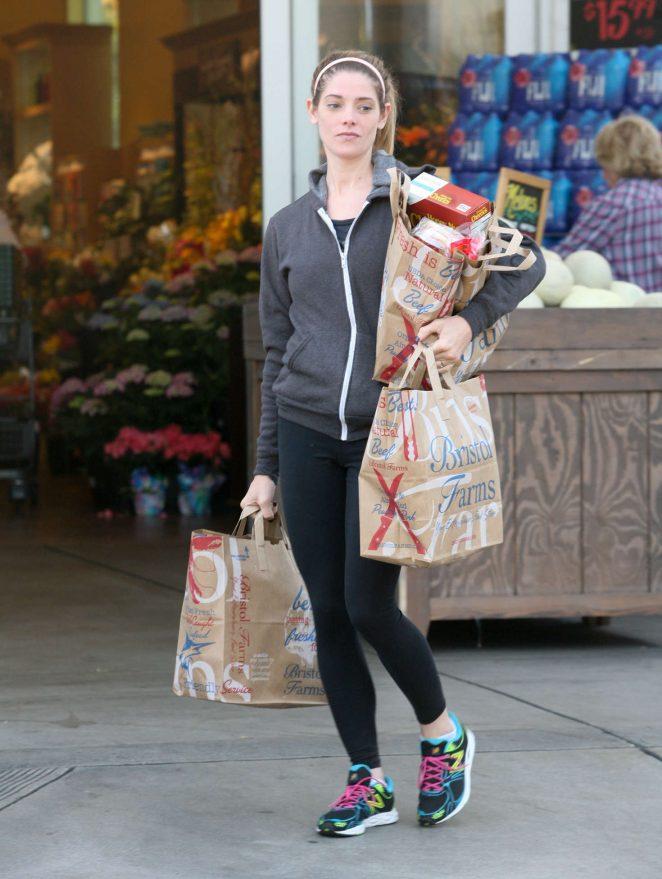 Ashley Greene – Leaving Bristol Farms in West Hollywood