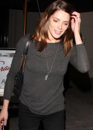 Ashley Greene - Leaving Craig's in West Hollywood