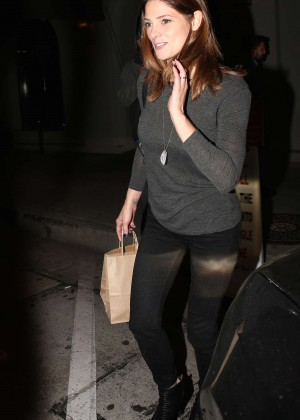 Ashley Greene - Leaving Craig's in West Hollywood