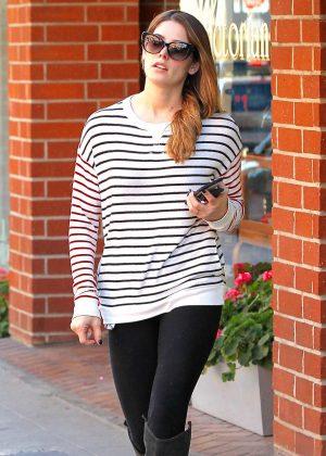 Ashley Greene - Leaving the nail salon in Beverly Hills